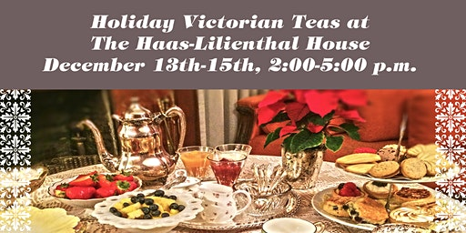 Holiday Victorian Teas 2019