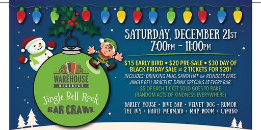 Jingle Bell Rock Bar Crawl-6th Annual