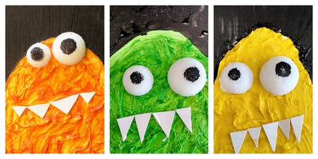 SPECIAL OFFER- 50% OFF! Marvelous Messy Monster Workshop (18 Months-6 Years) tickets