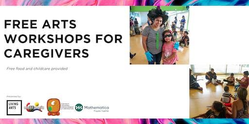 Free Arts Workshops for Caregivers