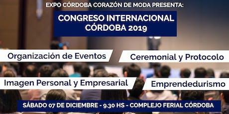 Congreso Internacional Córdoba 2019 entradas