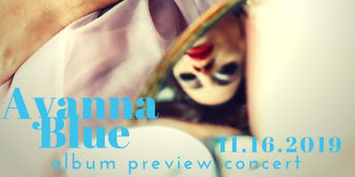 Ayanna Blue: album preview house concert