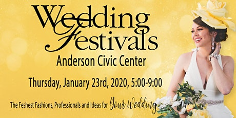Anderson 2020 Wedding Festivals tickets