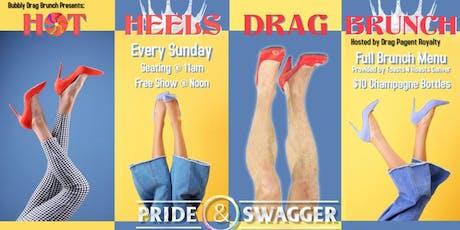 Hot Heels Drag Brunch - Sunday tickets