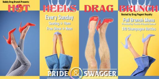 Hot Heels Drag Brunch - Sunday
