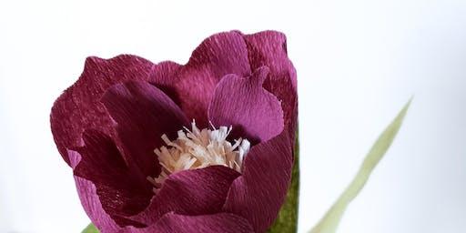 Crepe Paper Flowers Workshop