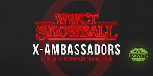 WWCT Snow Ball with X Ambassadors