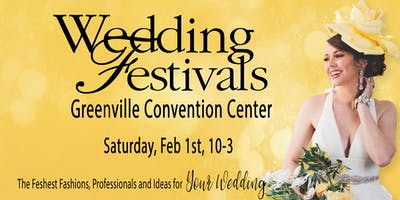 Greenville Convention. Cr 2020 Wedding Festivals