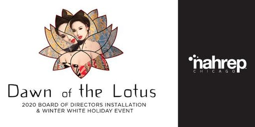 NAHREP Chicago: Dawn of the Lotus-Holiday Installation