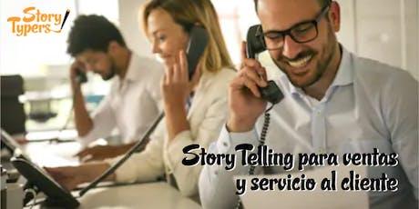 Taller de StoryTelling para ventas y servicio al cliente boletos