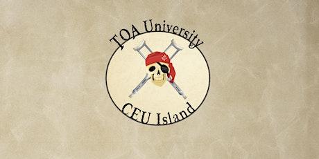 TOA University 4 tickets