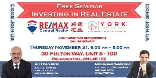 Free Seminar on Investing in Real Estate