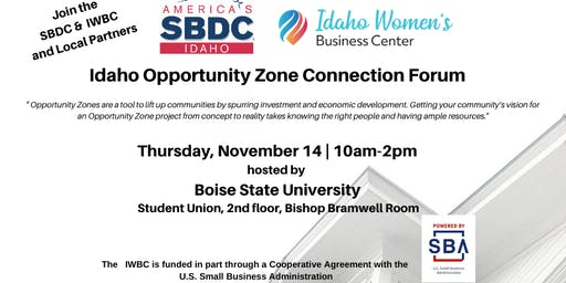 Idaho Opportunity Zone Connection Forum