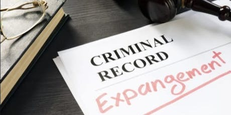 Criminal Record Expungement Clinic tickets