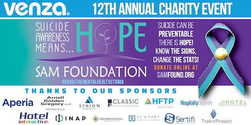 VENZA's 12th Annual Charity Event benefiting the SAM Foundation
