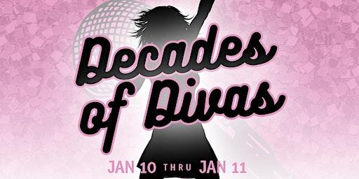 Decades of Divas: A Celebration of Female Recording Artists