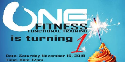 ONE Fitness Turns ONE