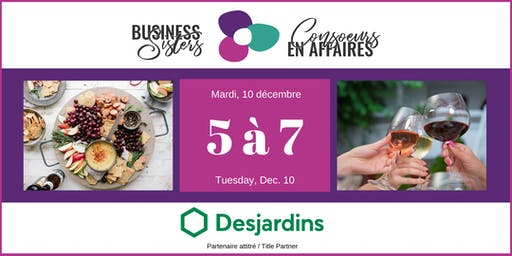 Business Sisters Networking / Consoeurs en Affaires 5 à 7