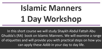 Islamic Manners 1 Day Workshop