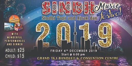 Sindh Music Festival on Sindhi Topi and Ajrak Day 2019
