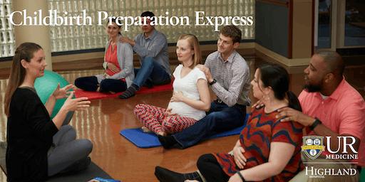 Childbirth Preparation Express, Saturday 2/8/20
