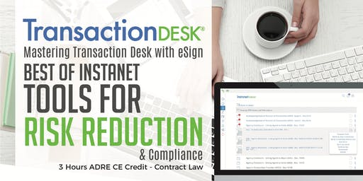 Transaction Desk E-Sign