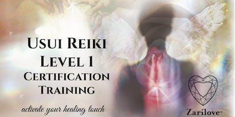 REIKI Healing Level 1 Training. (First Degree Attunement) Manchester. tickets