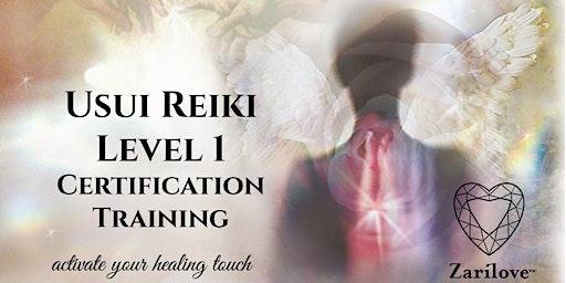 REIKI Healing Level 1 Training. (First Degree Attunement) Manchester.