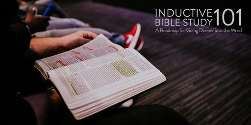 Inductive Bible Study 101