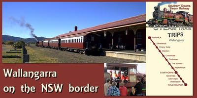 Warwick to Wallangarra Return (Optional Lunch on Wallangarra Railway Station)