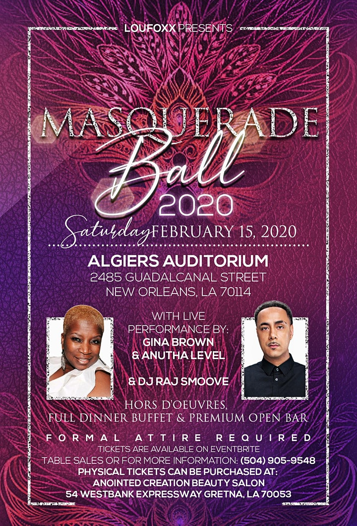 Masquerade Ball 2020 image
