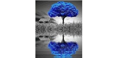"""Sip&Paint """"Winter Blues"""""""