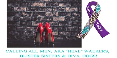 "2nd Annual KAVA Talks St George ""In Heels 2 Heal"" 1 Mile Walk For Sexual Assault Awareness Month tickets"