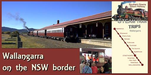 Warwick to Wallangarra Return (Optional Lunch on Wallangarra Railway Station)
