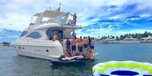 YACHT PARTY MIAMI BEACH FLORIDA