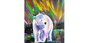 SOLD OUT: Aurora Borealis Spirit Bear Paint & Sip...