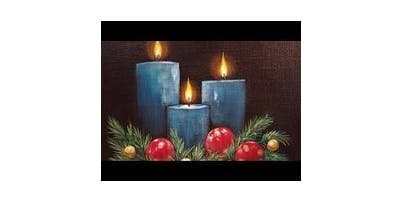 """Sip&Paint """"Holiday Hearth"""""""