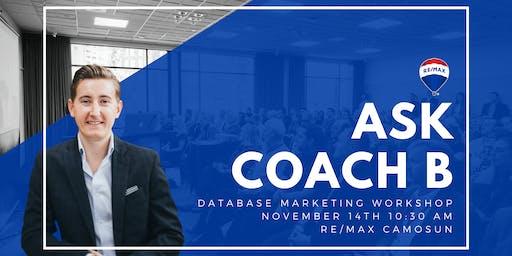 Database Marketing Workshop - Victoria