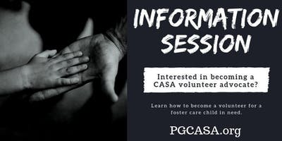 Winter Volunteer Information Session with CASA Prince George's County