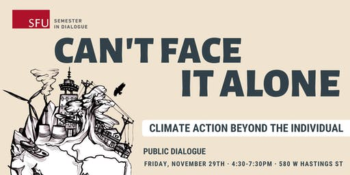 Can't Face It Alone: Climate action beyond the individual