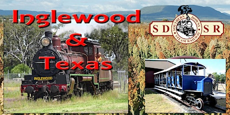 Warwick to Inglewood Return - Optional Texas Rail Heritage Assoc Facilities Tour and Lunch tickets