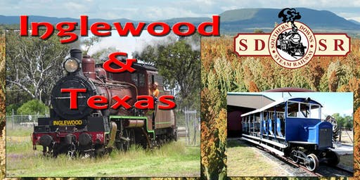 Warwick to Inglewood Return - Optional Texas Rail Heritage Assoc Facilities Tour and Lunch