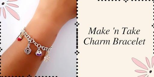 Make 'n Take: Sterling Silver Charm Bracelet