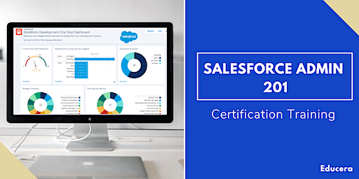 Salesforce Admin 201 & App Builder Certification Training in Wichita Falls, TX