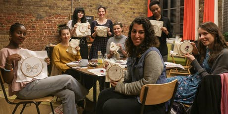 Stitch A Gift - Christmas Embroidery Workshop tickets