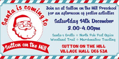 Santa is Coming to Sutton-on-the-Hill!