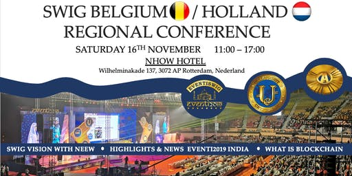 SWIG Belgium / Holland Region Conference