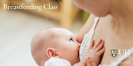 Breastfeeding Class, Wednesday 1/8/20
