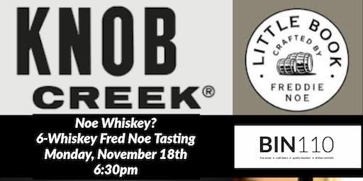 Freddie Noe 6-Whiskey Tasting