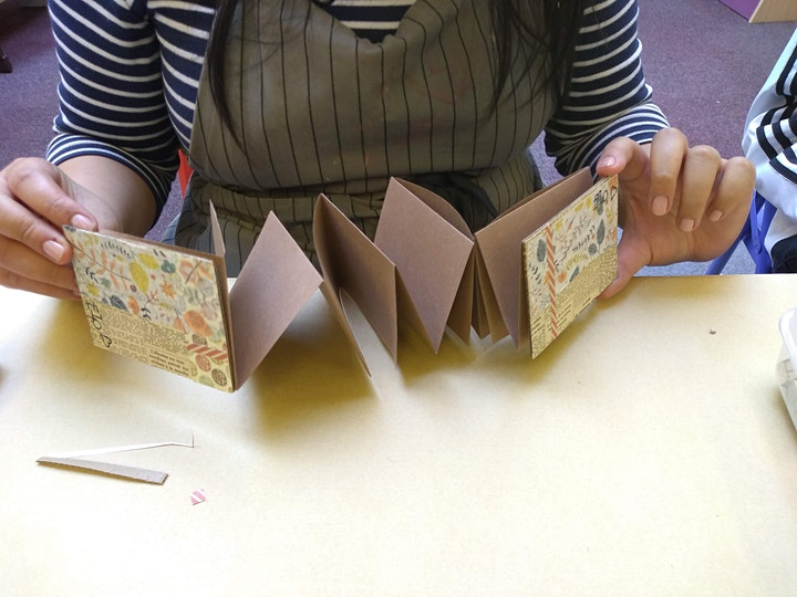 Make A Book Mondays at Stirchley Library image